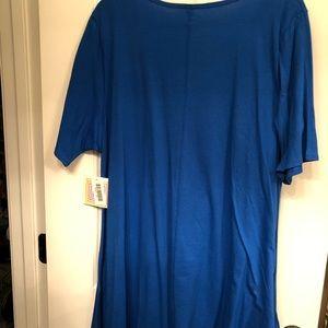 LuLaRoe Tops - Ocean Blue Tunic (LuLa Roe Perfect T)